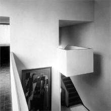 Maison La Roche, le hall. Photo Fred Boissonnas 1926 – FLC L2(12)78